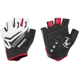 Roeckl Isar Handschuhe weiß 2020 Fahrradhandschuhe schwarz