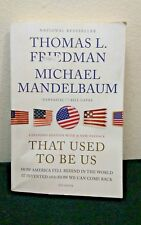 That Used to Be Us :How America Fell Behind in the World It Invented & How(1-sb)
