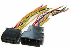 Adaptador de Radio Iso para Corriente Conector Enchufe Coche Vollbelegung Cable