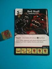 Dice Masters -  Red Skull Undying Evil  - Super Rare Age of Ultron