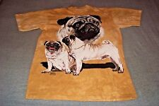 Pug Dog T-Shirt Adult Large Made by The Mountain