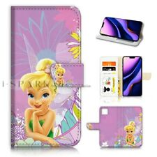 ( For iPhone 11 ) Wallet Flip Case Cover PB40414 TinkerBell