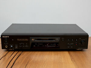 Sony MDS JE770 Minidisc Deck MDLP Player and RM-D10E Remote Control