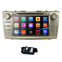 "2Din 8""HD Car CD DVD Player DAB+Radio GPS Navi BT SWC fit Toyota Camry 2007-2011"