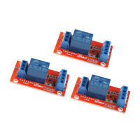 3Pcs 3V 1 Channel Relay Board Module Optocoupler LED for   PIC ARM AVR