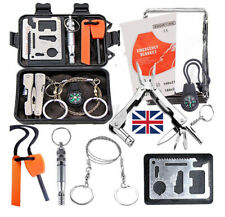 SOS Emergency Survival Equipment Kit Outdoor Gear Tool Tactical Camping Set USA