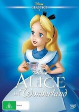 Alice In Wonderland (DVD, 2016)