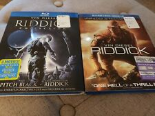 Riddick complete collection blu ray