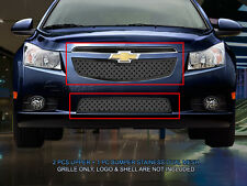 Dual Weave Mesh Grille Combo For Chevy Cruze LT RS/LTZ RS 2011-2014