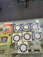 Vintage lot Viewmaster Slides - (7) Slides  - Countries