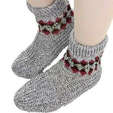Unisex Snuggle Slippers Stretch Knit Men's Size 8-12 Nonskid Soles 35° Below NEW