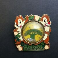 WDW Animal Kingdom 2005 - Chip and Dale Passholder Exclusive Disney Pin 40719