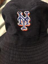 9a112df1ae7 NEW YORK METS DUNKIN DONUTS PROMO BUCKET FLOPPY HAT SGA DARK BLUE CAP FREE  SHIP