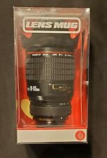 Camera Lens Cup Canon  Camera Lens Travel Mug With Snack Dish New In Box