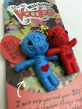 Watchover The Bestest Friend Voodoo Doll. Keyring Bag Charm Key Fob Pagan Pals