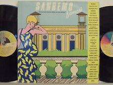 SANREMO FAMOSI 2 LP 33 giri MANGO RIGHEIRA MARCELLA CLAUDIA MORI  LITTLE TONY