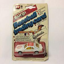 St. Louis Cardinals Corgi Ford Mustang Collectible Car