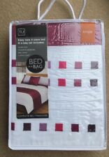 Single bedding Set  TU Easy care 4 piece bed in a bag Brand New Sealed