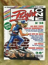 PLAYER ONE 28 02/93 MAGAZINE DE JEUX VIDEO NINTENDO SEGA XBOX PLAYSTATION