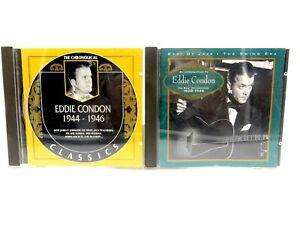 Eddie Condon ? His Best Recordings 1928-1946 ? Classics ? Lot of 2 CD's