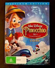 Pinocchio DVD 2-Disc Set 70th Anniversary Edition