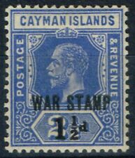 Lightly Hinged George V (1910-1936) Caymanian Stamps