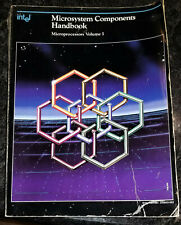 USED 1986 Intel Microsystems Components Handbook Vol. I