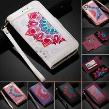 For Samsung S20 Ultra S10 S9 S8 Note10 20 Printed Wallet Flip Leather Case Cover