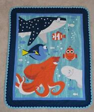 TODDLER CRIB QUILT/SHEET SET - DISNEY'S FINDING DORY - DORY & FRIENDS - 4pc SET