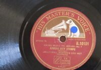 78 rpm JELLY ROLL MORTON RED HOT PEPPERS kansas city stomps / shoe shiner`s drag
