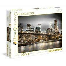 PUZZLE 1000 PZ HIGH QUALITY COLLECTION NEW YORK SKYLINE CLEMENTONI 39366