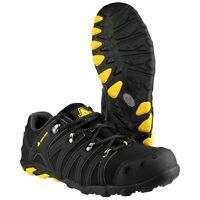 Amblers FS23 Black Soft Shell Safety Trainer |4-15|