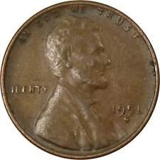 UNC. 1951 S  COPPER PENNY--TONED