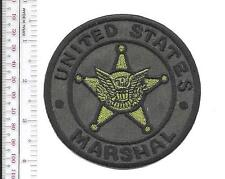 United States Marshal USMS Subdued Green Army Combat Uniform acu Vel hooks Cro