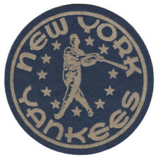 "1950'S NEW YORK YANKEES MLB BASEBALL VINTAGE ORIGINAL 5"" TEAM LOGO PATCH RARE"