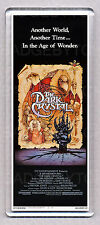 THE DARK CRYSTAL movie poster WIDE FRIDGE MAGNET - 80's Fantasy Classic!