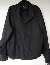 FootJoy DryJoy Jacket XL Black Windbreaker Coat Mens Extra Large