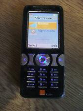 Sony Ericsson Cyber-shot K550i - Jet Black (ORANGE) Mobile Phone