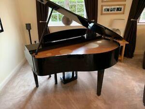 Yamaha Clavinova CLP295 Digital Baby Grand Piano and stool - Gloss Black