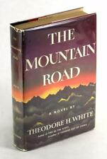 Theodore White & Jimmy Stewart Signed First Edition 1958 The Mountain Road HC DJ
