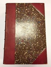 Harper's Magazine Vol III 1851 Antique Leather Herman Melville Moby Dick Mormons