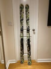 Line Invader 171cm Skis With Salomon Bindings Great Comdition