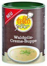 tellofix Waldpilz-Creme-Suppe 500 g (5,5 l) Pilzsuppe, Schwammerlsuppe (o. GSV)