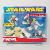 Star Wars Jedi Force Playskool The Stompin Wampa Play Set Figures 2002