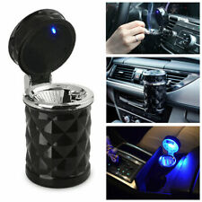 Portable Car Led Ashtray Cup Holder Travel Cigarette Smoke Remove Smokeless
