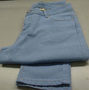 Ladies/Girls Light Blue Skinny Pencil Jeans-Sizes 14 & Long length