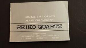 SEIKO QUARTZ  - MANUALE  ISTRUZIONI PER L'USO- USATO - 4 +-