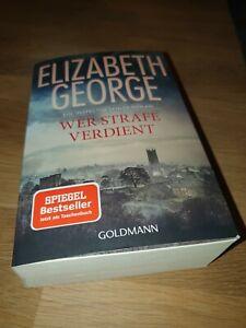 Wer Strafe verdient von Elizabeth George (Taschenbuch)