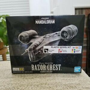 Bandai Star Wars Razor Crest Model Kit 018 The Mandalorian New Factory Sealed
