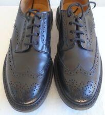 Men's Trickers Burton Black Wingtip Brogues Size 10.5